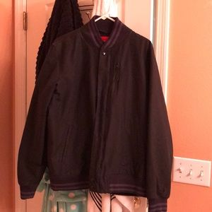 Nike Air thicker Bomber Jacket sz Large